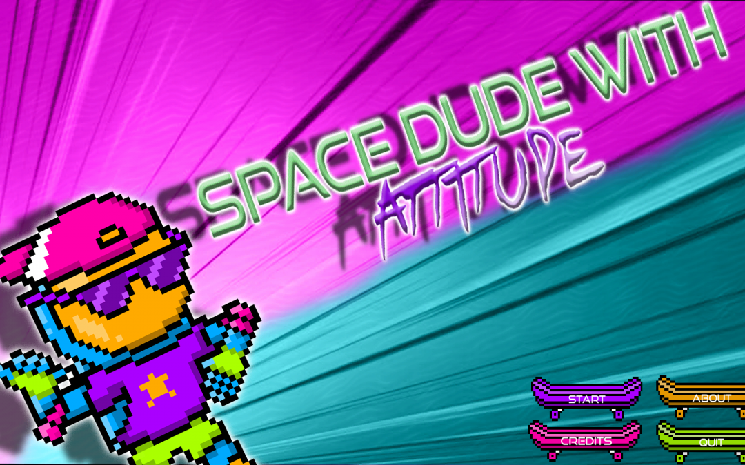 Space Dude with Attitude